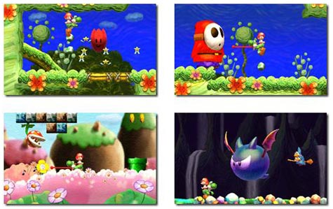 screens: yoshis new island