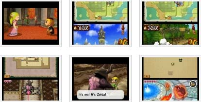 screens: zelda spirit tracks