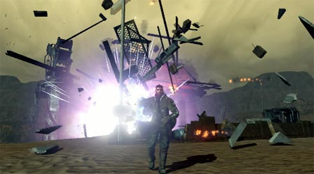 screenshots: red faction – guerilla