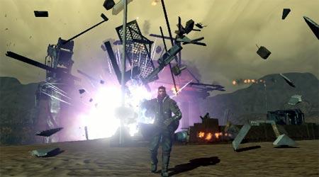 screenshots: red faction – guerilla
