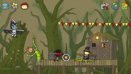 screens: scribblenauts unlimited