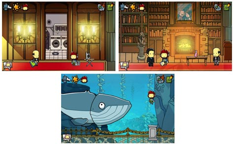 screens: scribblenauts unmasked