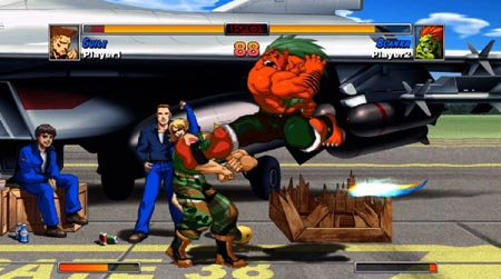 screens: street fighter II turbo hd remix