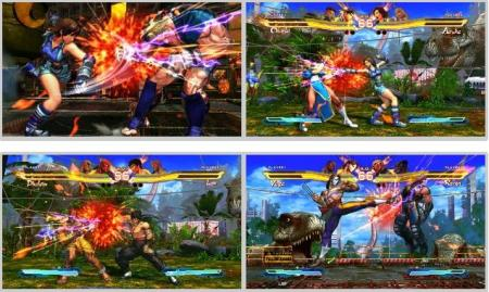screenshots (II): street fighter X tekken