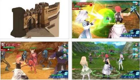 screenshots (II): shining blade