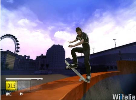 wii: skate it