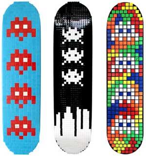 skateboardmosaikkunst