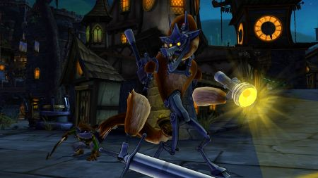 screenshots: sly cooper: thieves in time