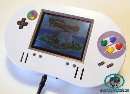modding: snes portable