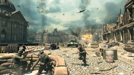 screenshots: sniper elite v2