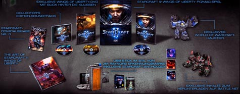 pc: starcraft II collector's edition