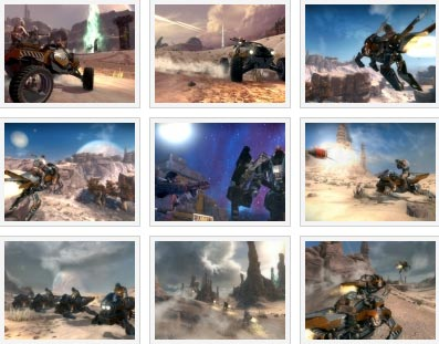 screenshots: starhawk