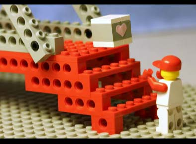 clip: lego stop motion