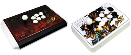 arcade: street-fighter-joysticks