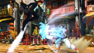 screenshots: street fighter IV