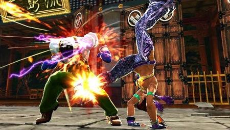 screens: street fighter x tekken