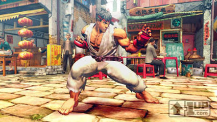 Erster Street Fighter IV Screenshot