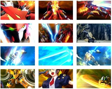 screenshots: super robot wars: og saga masou kishin III