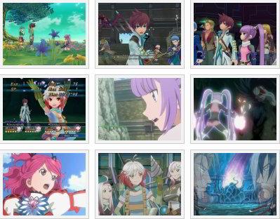 screenshots (III): tales of graces f
