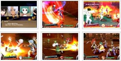 screenshots (II): tales of the heroes: twin brave