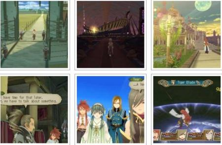 screenshots: tales of the abyss