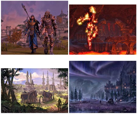 screens: the elder scrolls online