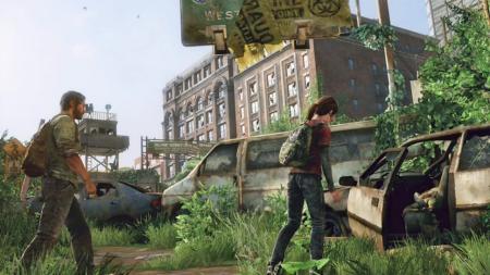 screenshots: the last of us