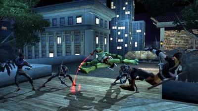 teenage mutant hero turtles: comeback