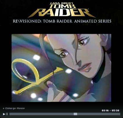 tomb raider animationsserie