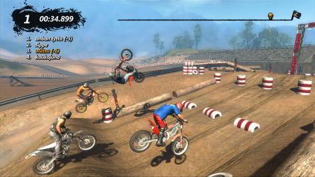 screenshots: trials evolution