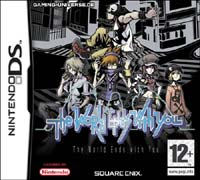the world ends with you: boxart