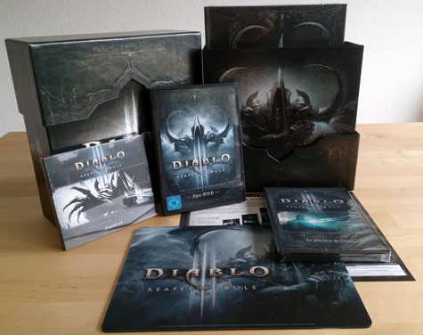 unboxing: diablo III reaper of souls