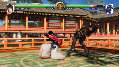 screenshots: virtua fighter 5