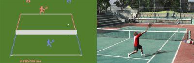 tennis: heute und gestern