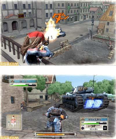 screenshots: valkyrie of the battlefield