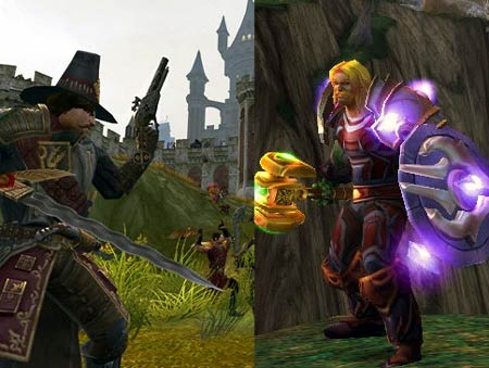 pc: warhammer online vs. world of warcraft