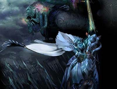 artwork: white knight