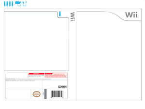 wii boxart template