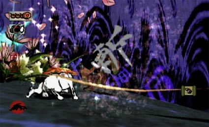 wii: okami version, erste screenies