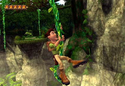 wii: pitfall remake