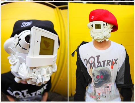 wtf: gameboy-maske