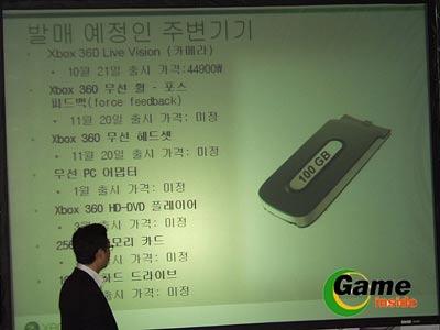 xbox360: 100gb-platte