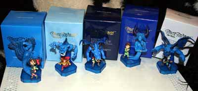 blue dragon: actionfiguren