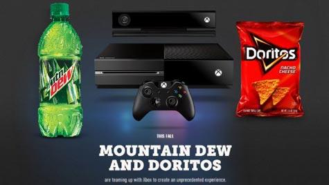 xbox: mit chips und limo