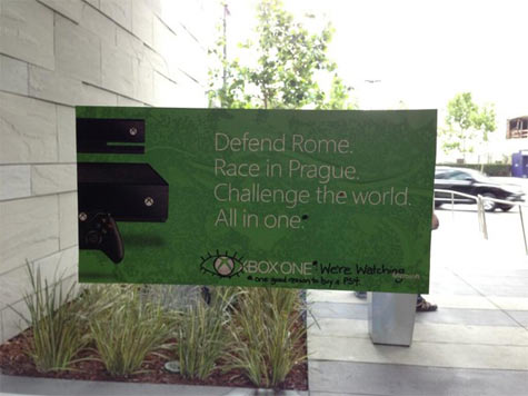 xbox one: promoposter defacement