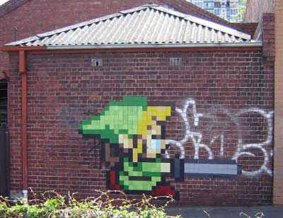 zelda graffiti