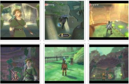 screens: zelda skyward sword