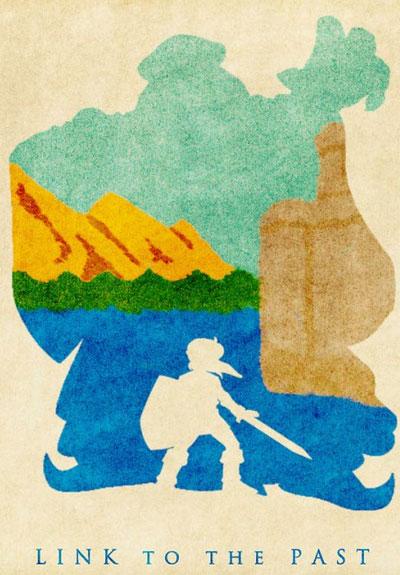 fanart: zelda in wasserfarben